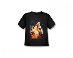 Image for Bruce Lee Kids T-Shirt - Yellow Jumpsuit