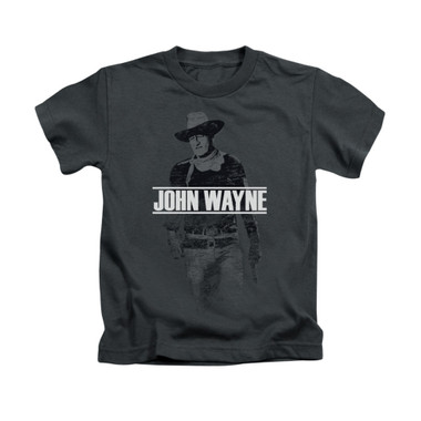 Image for John Wayne Kids T-Shirt - Fade Off