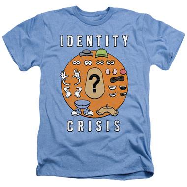 Image for Mr. Potato Head Heather T-Shirt - Identity Crisis