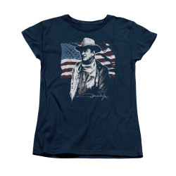 Image for John Wayne Woman's T-Shirt - American Idol