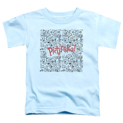 Image for Pictureka Toddler T-Shirt - Line Work