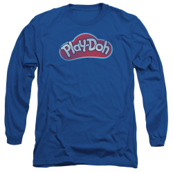 Image for Play Doh Long Sleeve T-Shirt - Blue Lid