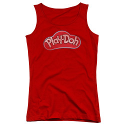 Image for Play Doh Girls Tank Top - Red Lid