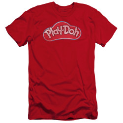 Image for Play Doh Premium Canvas Premium Shirt - Red Lid