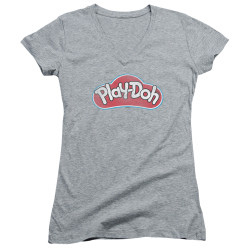 Image for Play Doh Girls V Neck T-Shirt - Dohs