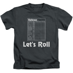 Image for Yahtzee Kids T-Shirt - Let's Roll