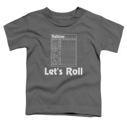 Image for Yahtzee Toddler T-Shirt - Let's Roll