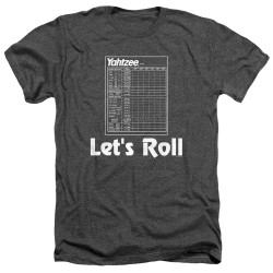 Image for Yahtzee Heather T-Shirt - Let's Roll