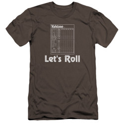 Image for Yahtzee Premium Canvas Premium Shirt - Let's Roll