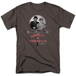 Image for Abbott & Costello T-Shirt - Super Sleuths