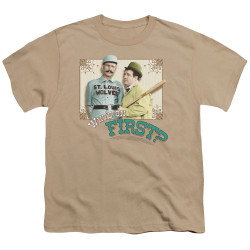Image for Abbott & Costello Youth T-Shirt - Who's on First