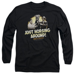 Image for Abbott & Costello Long Sleeve Shirt - Horsing Around