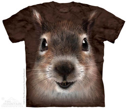 Image for The Mountain T-Shirt - Squirrel Face