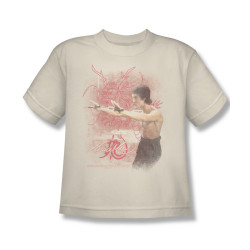 Image for Bruce Lee Youth T-Shirt - Power of the Dragon