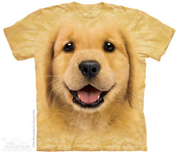 Image for The Mountain T-Shirt - Golden Retriever Puppy