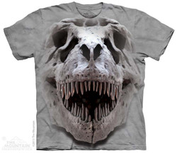 Image for The Mountain T-Shirt - T-Rex Big Skull