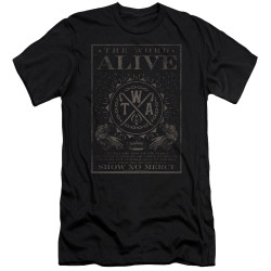 Image for The Word Alive Premium Canvas Premium Shirt - Show No Mercy