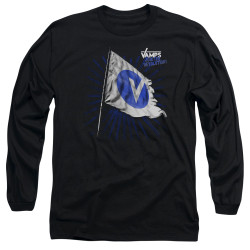 Image for The Vamps Long Sleeve T-Shirt - Flag