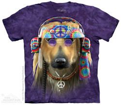 Image for The Mountain T-Shirt - Groovy Dog