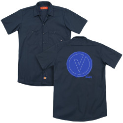 Image for The Vamps Dickies Work Shirt - Frayed Patch