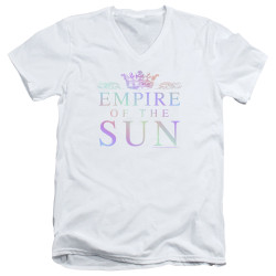 Image for Empire of the Sun V Neck T-Shirt - Rainbow Logo
