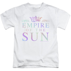 Image for Empire of the Sun Kids T-Shirt - Rainbow Logo