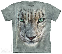 Image for The Mountain T-Shirt - Icicle Snow Leopard