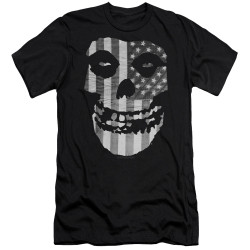 Image for The Misfits Premium Canvas Premium Shirt - Fiend Skull Flag