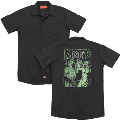 Image for The Misfits Dickies Work Shirt - The Return