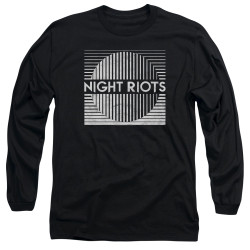 Image for Night Riots Long Sleeve T-Shirt - Title