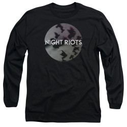 Image for Night Riots Long Sleeve T-Shirt - Flock