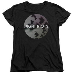 Image for Night Riots Woman's T-Shirt - Flock