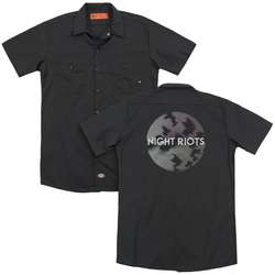 Image for Night Riots Dickies Work Shirt - Flock