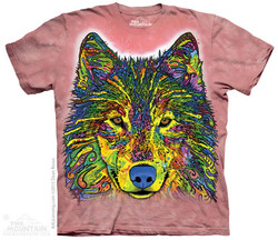 Image for The Mountain T-Shirt - Russo Wolf