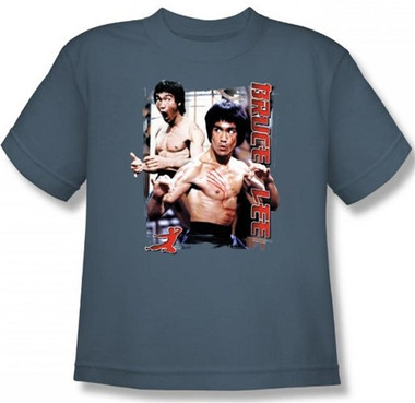 Image for Bruce Lee Youth T-Shirt - Enter the Dragon