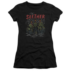Image for Seether Juniors Premium Bella T-Shirt - Mind Control