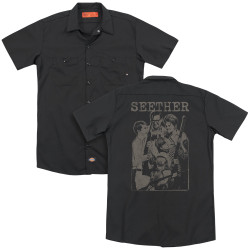 Image for Seether Dickies Work Shirt - Happy Family