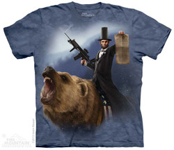 Image for The Mountain T-Shirt - Lincoln the Emancipator