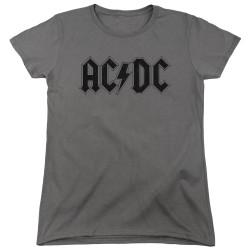 Image for AC/DC Woman's T-Shirt - Worn Logo