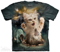 Image for The Mountain T-Shirt - Zombie Cat