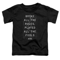 Image for AC/DC Toddler T-Shirt - Struck
