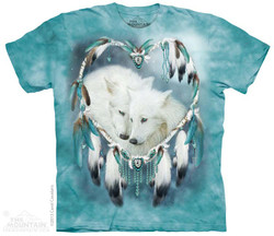 Image for The Mountain T-Shirt - Wolf Heart