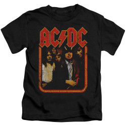 Image for AC/DC Kids T-Shirt - Group Distressed