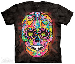 Image for The Mountain T-Shirt - Day of the Dead
