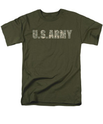 Image for U.S. Army T-Shirt - Camo Logo