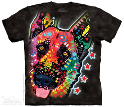 Image for The Mountain T-Shirt - Russo German Shep