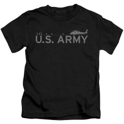 Image for U.S. Army Kids T-Shirt - Helicopter