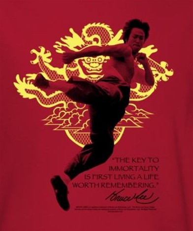 290d9bfb5 Bruce Lee T-Shirt - Immortal Dragon. Loading zoom. Hover over image to zoom