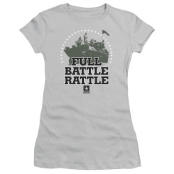 Image for U.S. Army Girls T-Shirt - Full Battle Rattle