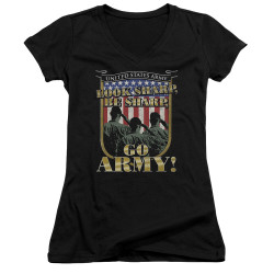 Image for U.S. Army Girls V Neck - Go Army